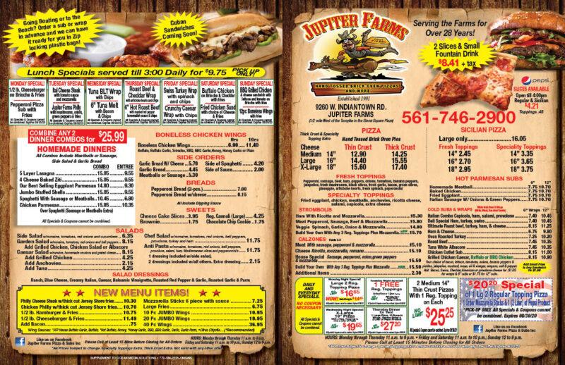 Jupiter Farms Pizza My Living Magazine